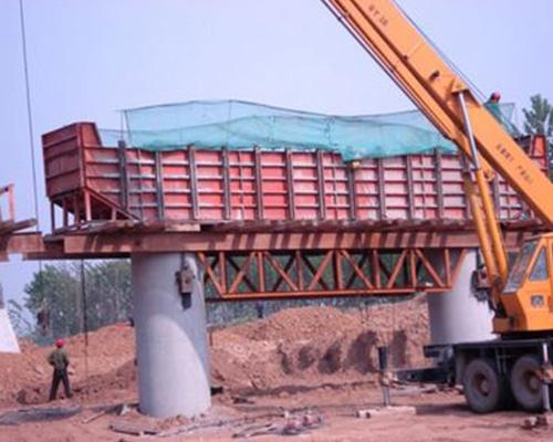 墩盖梁钢模板加工